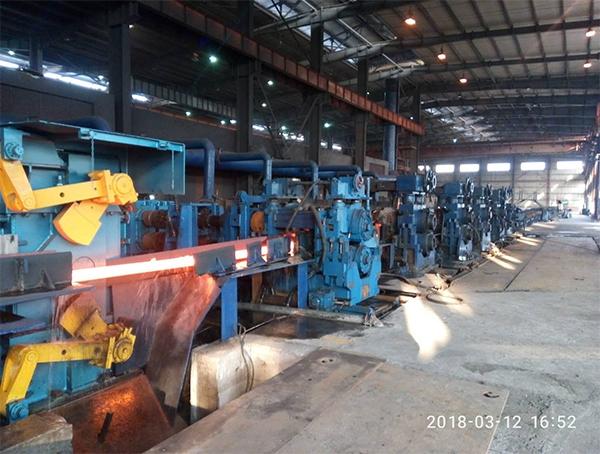 轧钢机生产线