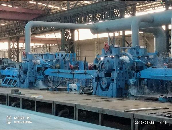 全连轧型钢生产线