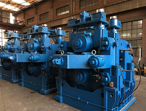 轧钢机plc控制电路图
